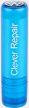 Ljusblå Cerat med domningtryck på toppen