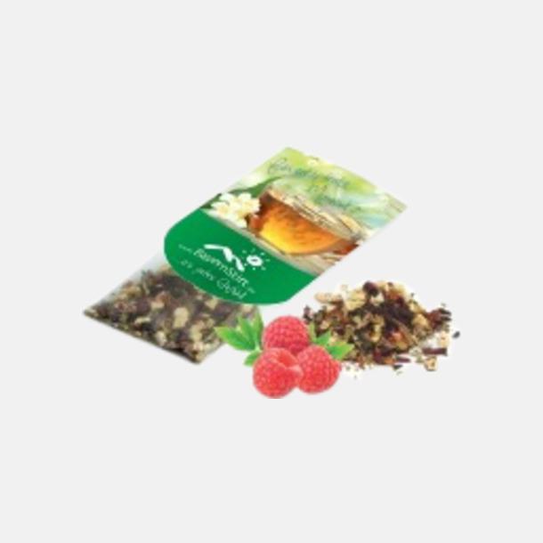 Fruktte (hallon) Premiumte i många smaker med reklamtryck