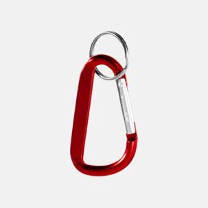 Karbinhake med nyckelring - med tryck