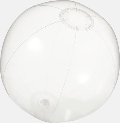 Klar (transparent) Badbollar i solida och transparenta färger med reklamtryck
