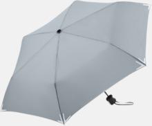 Kompakta paraplyer med eget tryck