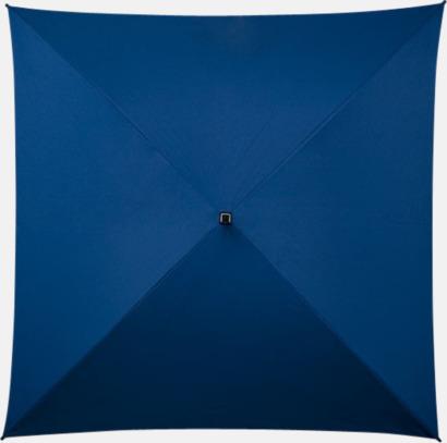 Blå Paraplyer med tryck