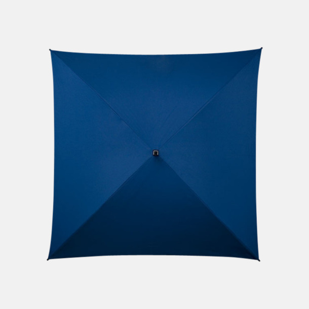 Blå (PMS 280C)  Fyrkantiga Paraplyer med eget tryck