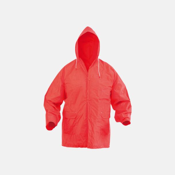 Röd Billiga regnkappor med fodral