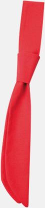Röd (kravatt) Ready-to-wear slipsar och kravatter med eget tryck