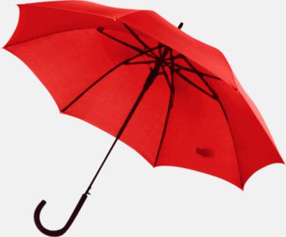 Röd Stormsäkra, automatiska paraplyer med tryck