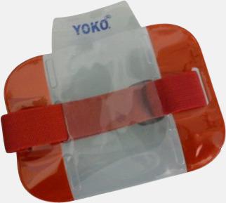 Röd Vattentäta ID-armband med reflex
