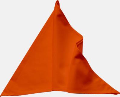 Orange Tåliga scarfs med reklamlogo