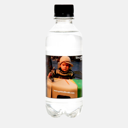Standard etikett (ingår i priset) Vatten med egen etikett