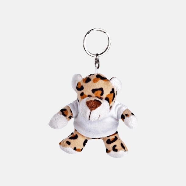 Gepard Nyckelringsmaskotar med reklamtryck