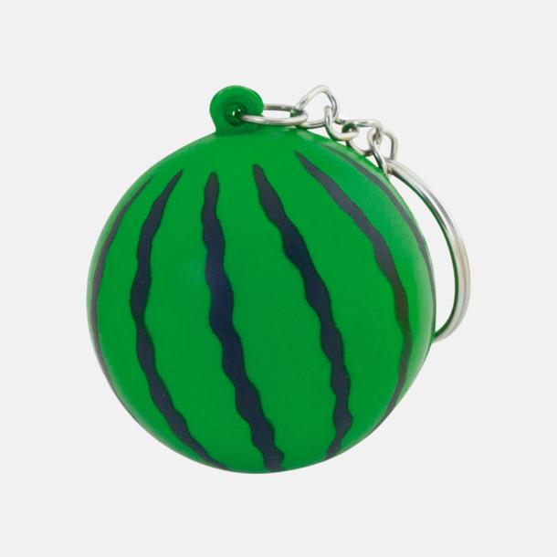 Melon Stressbollar i form av olika frukter - med reklamtryck