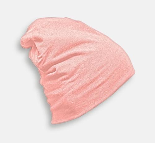 Baby Pink Skräddarsydda bomullsmössor med fleecefoder