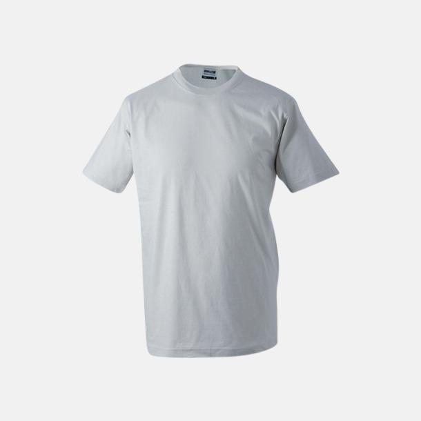 Ljusgrå Barn t-shirtar av kvalitetsbomull med eget tryck