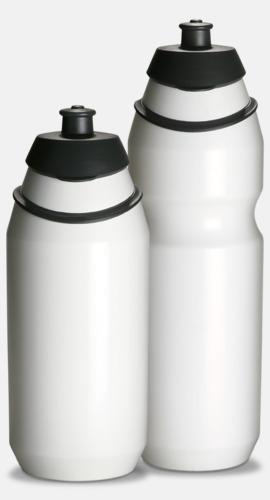 Vit Vattenflaska med eget tryck