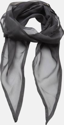Mörkgrå Tunna accessoarscarfs i många färger