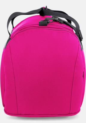 Fuchsia (sidan) Väskor med reklamtryck