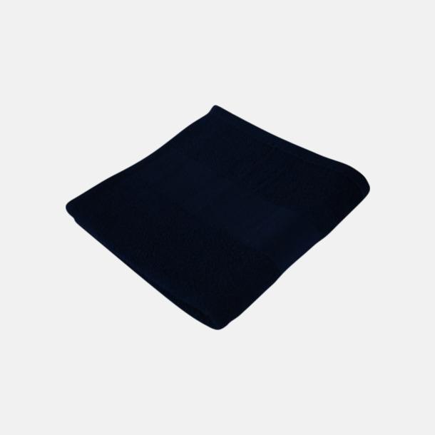 Deep Blue Billiga handdukshandskar med brodyr