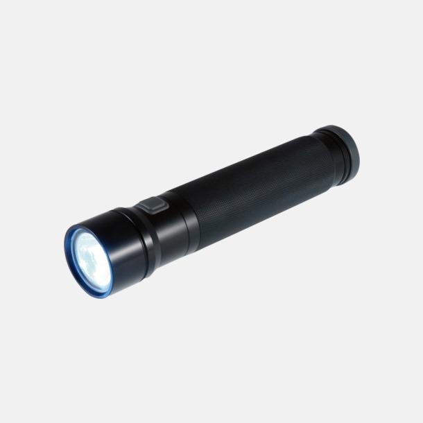 Svart 5 watt-ficklampor från Ellipse med reklamlogo