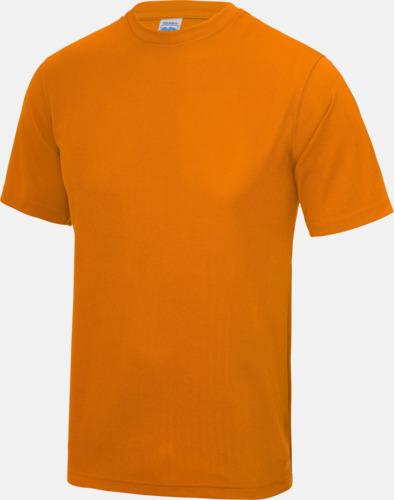 Orange Crush Billig funktionströja med eget tryck