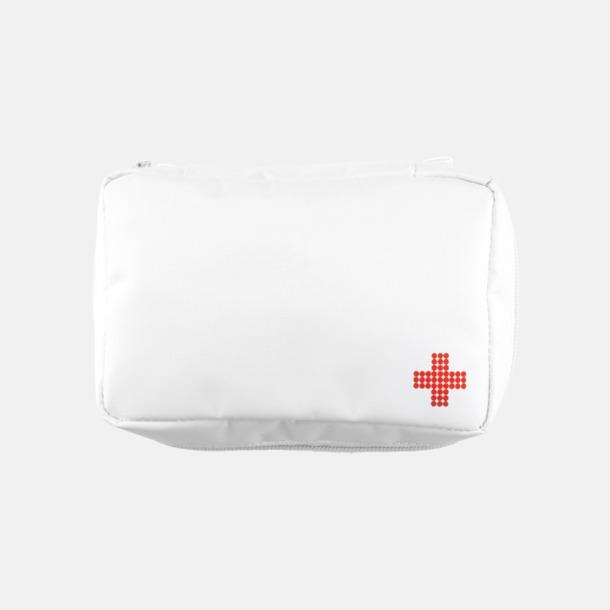 Vit Första Hjälpen Kit Mail Size med eget reklamtryck