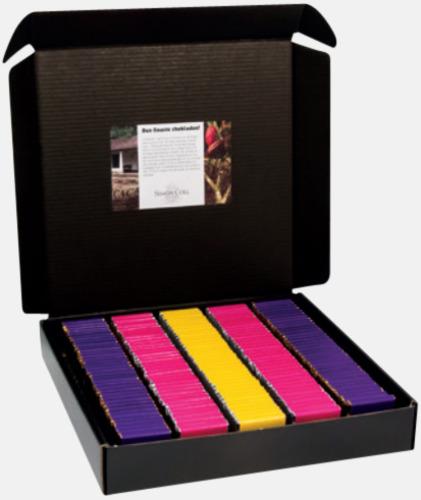 Standardkartong (ingår) Chokladbitar med reklamtryck