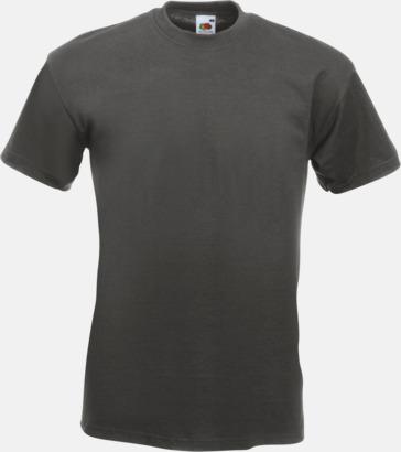 Light Graphite Kraftig t-shirt med reklamtryck