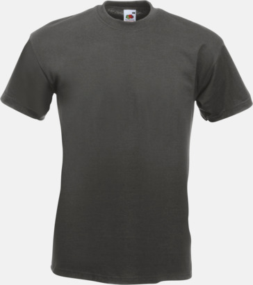 Light Graphite Kraftig t-shirt med reklamtryck