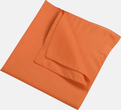 Orange (scarf) Bandanas i två varianter med reklambrodyr
