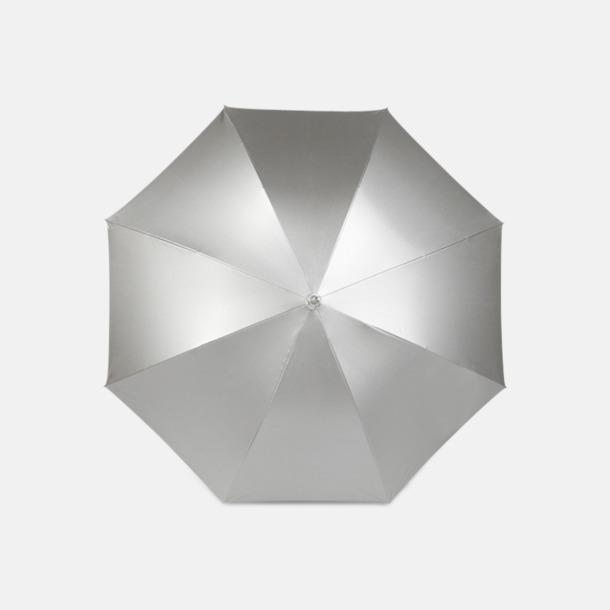 Silver Exklusivt reklamparaply med reklamtryck