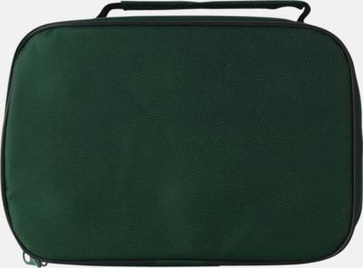 Grön/Silver Boule-set med 6 klot - med reklamtryck
