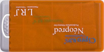 Orange Putsdukar i askar med reklamtryck