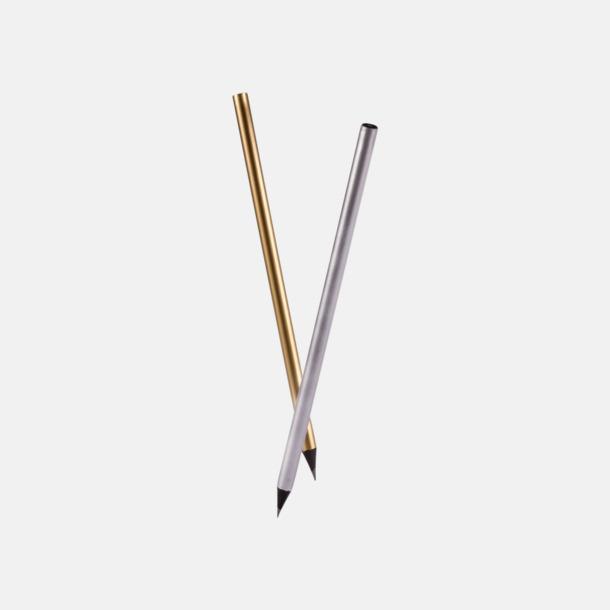 Guld- eller silverfärgade blyertspennor med reklamtryck