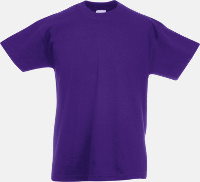 Lila T-shirt barn - Valueweigth barn t-shirt