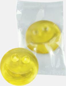 Smiley Fruktgelé i flow-pack med reklamtryck