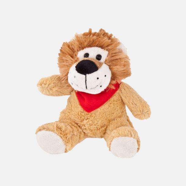 Lejon Gosedjur med skarfs - med logo