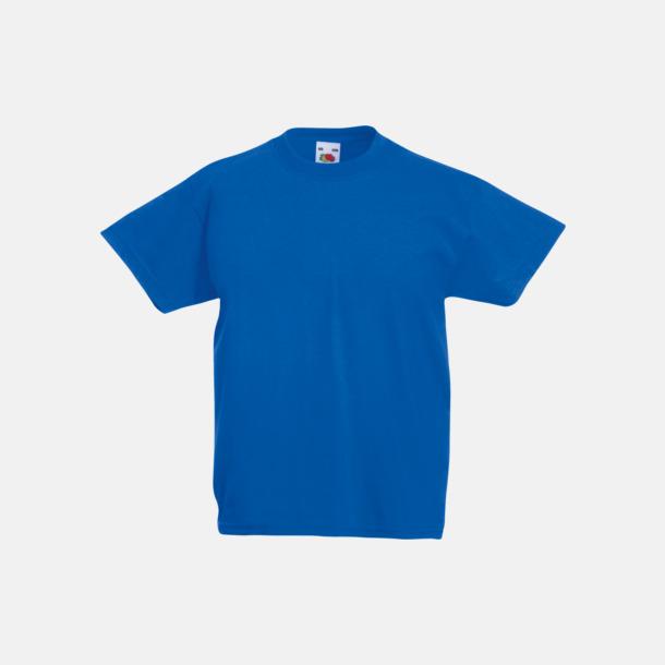 Royal Blue T-shirt barn - Valueweigth barn t-shirt