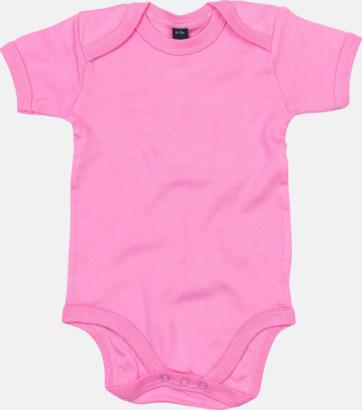 Bubble Gum Pink Profilkläder för de allra minsta med tryck