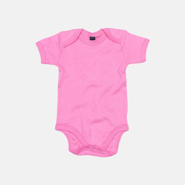 Bubble Gum Pink Profilkläder för de allra minsta med reklamtryck