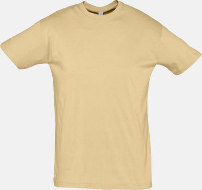 Sand Billiga herr t-shirts i rmånga färger med reklamtryck