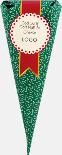 Skumtomtar (50 gram) Strutar med polkagris, kola eller skumgodis - med reklamtryck