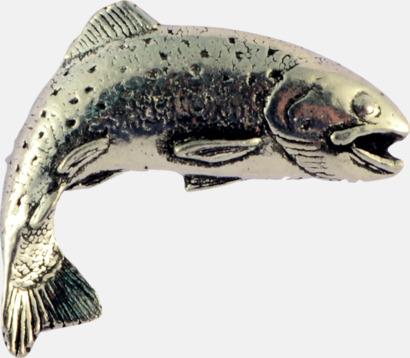 Öring Engelska, handgjorda broscher med jaktmotiv