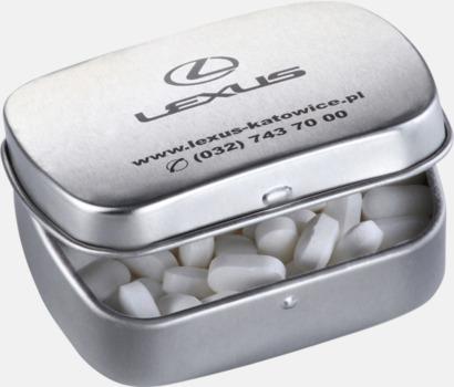 Silver Metallaskar fyllda med godis