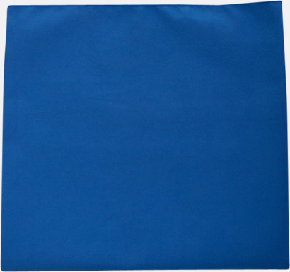 Royal Blue Sportiga microfiberhanddukar i 3 handdukar med reklambrodyr