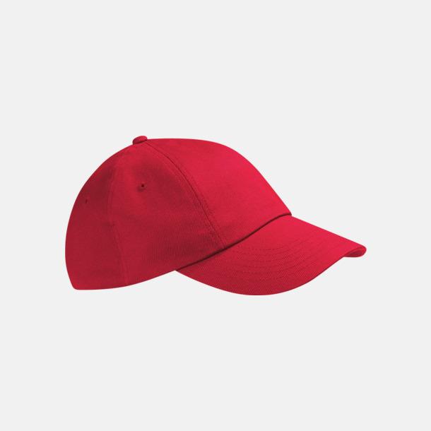 Classic Red McGwire - Sportig lågprofilkeps