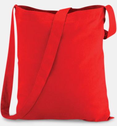 Bright Red Sling - Tygpåsar med eget reklamtryck