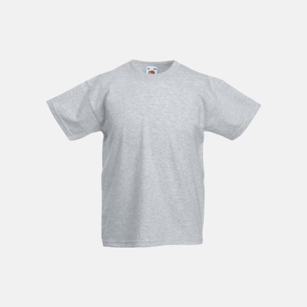 Heather Grey T-shirt barn - Valueweigth barn t-shirt