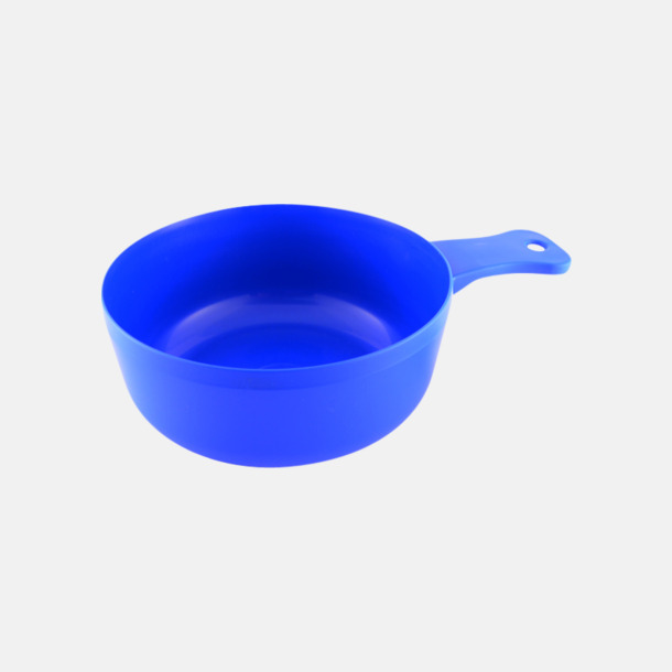 Blå Matkåsor med tryck