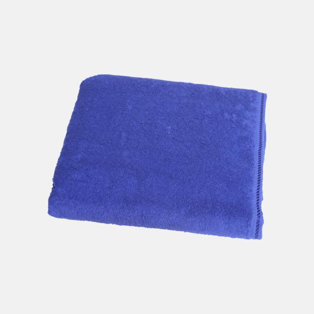 True Blue Bomullshanddukar i 3 storlekar med reklambrodyr