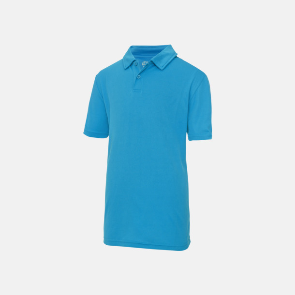 Sapphire Blue Barnpikétröjor i många färger - med reklamtryck