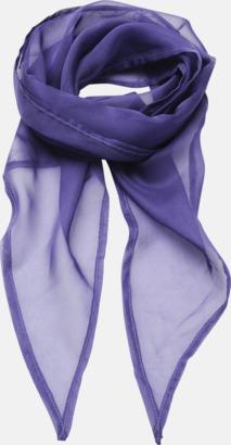Purple Tunna accessoarscarfs i många färger